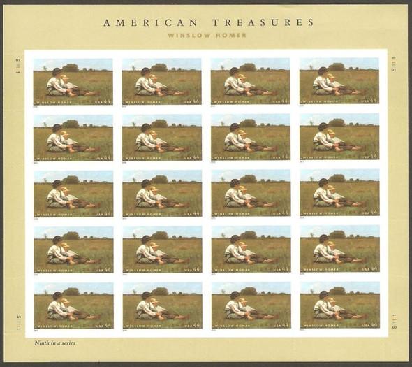 US (2011)- WINSLOW HOMER (ART) SHEET #4473
