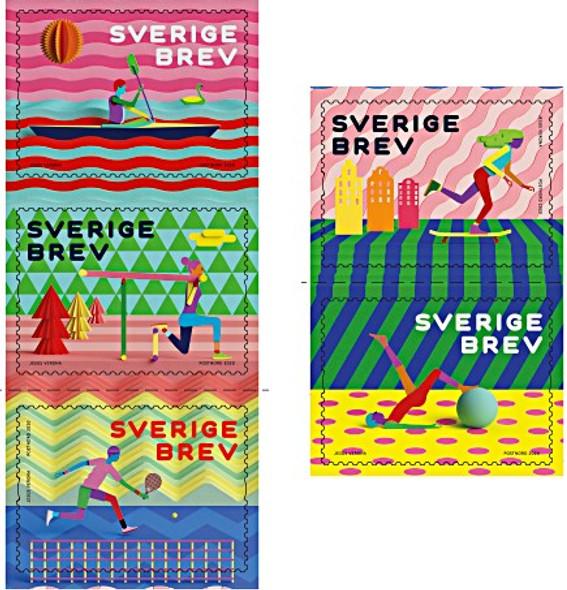 SWEDEN (2020)- LEISURE BOOKLET - TENNIS, BOATING, ETC.