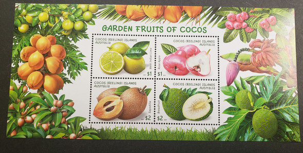 COCOS ISLAND 2016-19 ISSUES, Puppets, Fruit, Planes LAST ONES ORIGINAL RETAIL $59