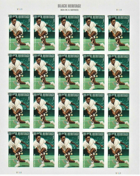 US (2013)- Althea Gibson (Tennis) Sheet of 20- #4803