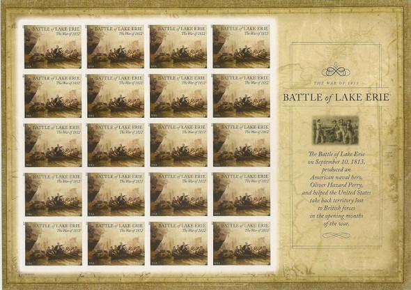 US (2013) Battle of Lake Erie Sheet #4805a