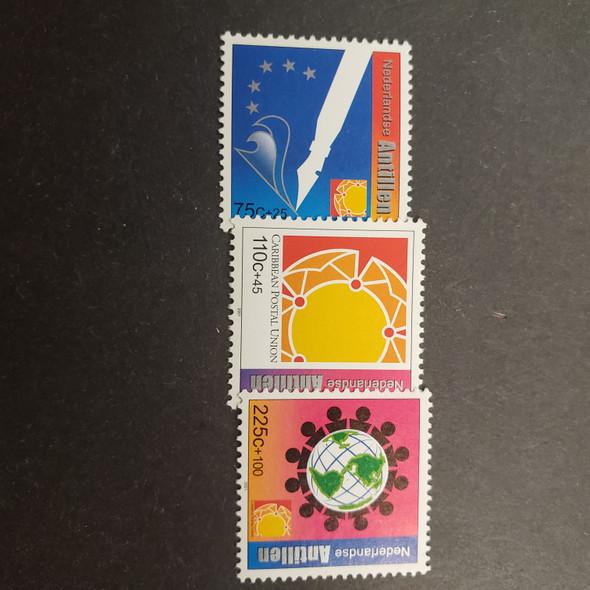 NETHERLANDS ANTILLES (2001) Semi  Postal , Caribbean Postal Union Anniversary (3v)