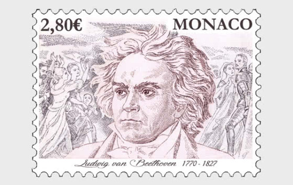 Monaco (2020)-  250th Anniversary of Birth of Beethoven