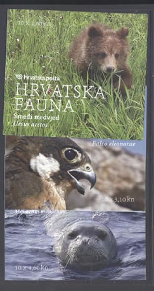 CROATIA- Fauna 2011 Booklets (3)