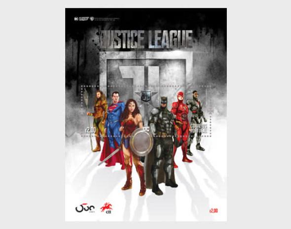 PORTUGAL (2020)- JUSTICE LEAGUE SUPERHEROES (6v & sheet)
