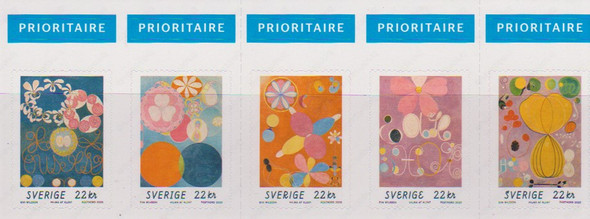 SWEDEN (2020)- Klimt Paintings Booklet (5 values)