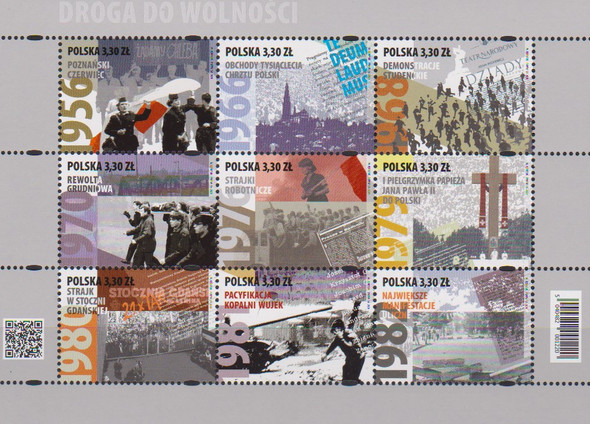 Poland (2020)- Freedom Sheet of 9v