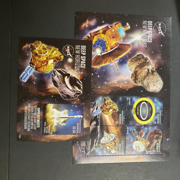 MICRONESIA (2017) NASA Deep Space, New Horizons Sheet and SS
