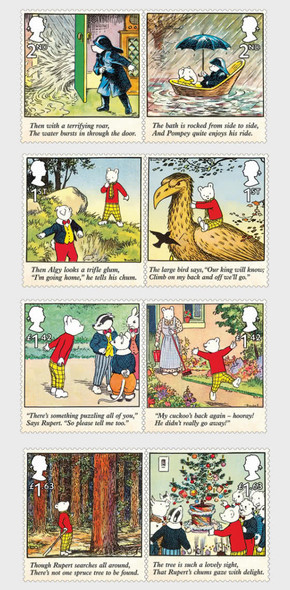 GR. BRITAIN  (2020)- Rupert Bear (6v)- cartoons