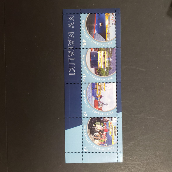 TOKELAU (2017) MV MATALIKImi FERRY SS Sheet