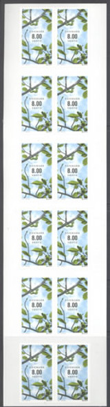 DENMARK- Europa 2011 Year of the Forest Booklet