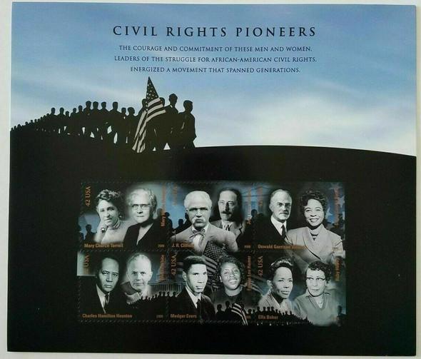 US (2009)- CIVIL RIGHTS PIONEERS #4384