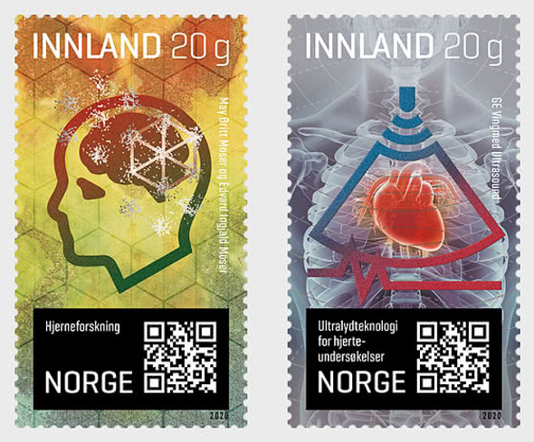 NORWAY  (2020)-Research & Medical Innovations (2v)