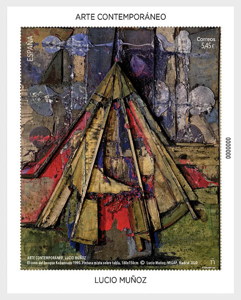 SPAIN (2020)-Contemporary Art Souvenir Sheet