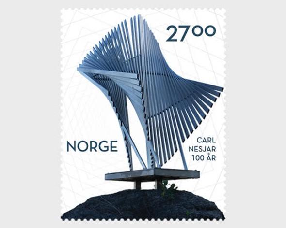 NORWAY (2020)-Carl Nesjar Centenary- Artist, Photographer