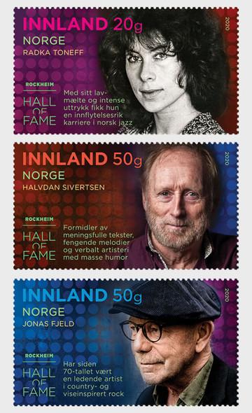 NORWAY (2020)-Rocheim Music Hall of Fame- Popular Music Artists (3)