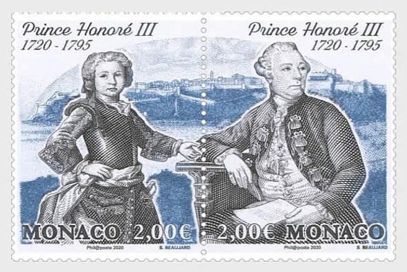 MONACO  (2020)- 300th Anniversary of the Birth ofPrince Honoré III