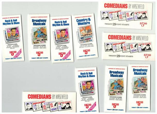 US DISCOUNT LOT-10 $5.80 COMMEMORATIVE  BOOKLETS- - BELOW FACE VALUE!
