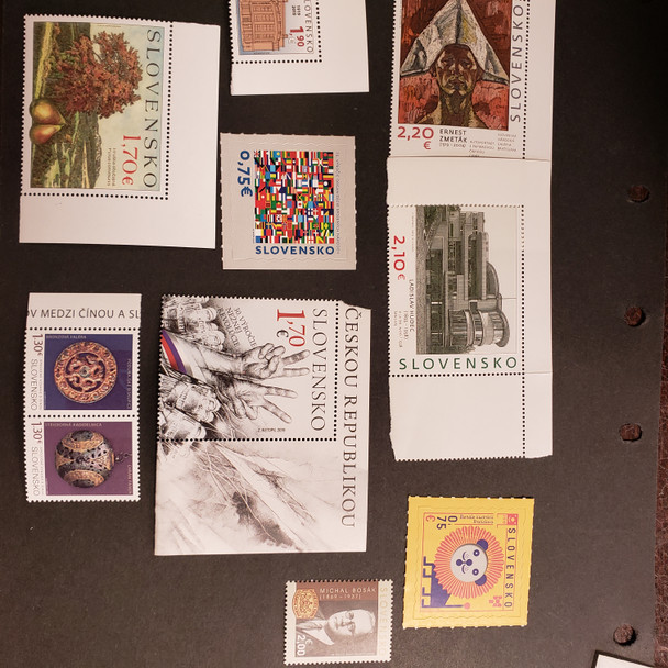 SLOVAKIA (2020) Small Collection of 2020 Issues