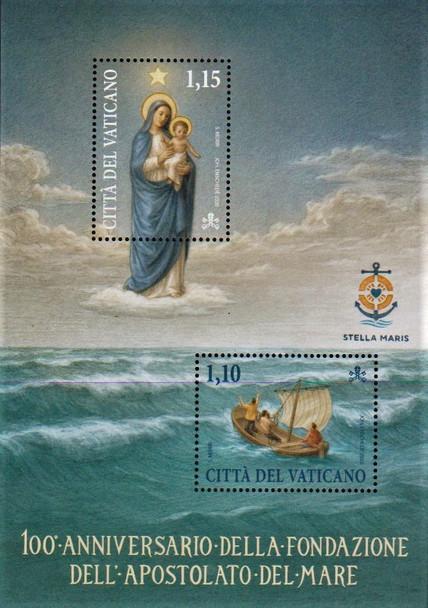 VATICAN CITY (2020)- Apostolate of the Sea Sheet