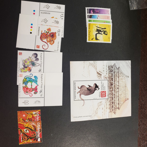 YEAR of the RAT (2020) Small Collection Of Sets And SS
