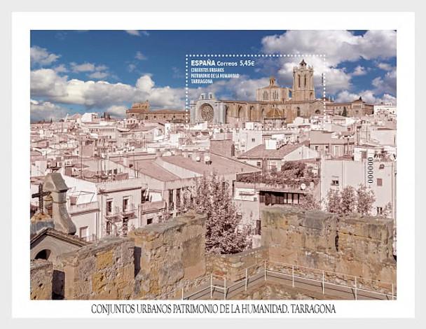 SPAIN (2020)- Urban Sites - Tarragona  - Miniature Sheet