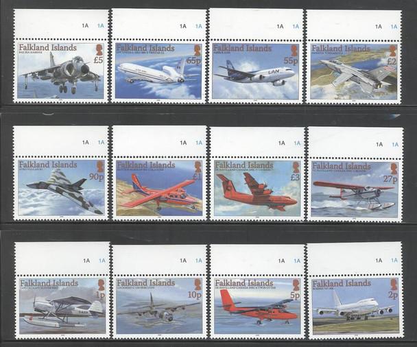 FALKLAND ISLANDS (2008) - Aircraft  (12 values)