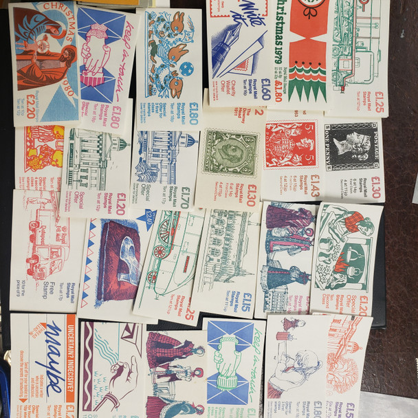 GREAT BRITAIN Booklet Lot of 69 Older Complete Booklets