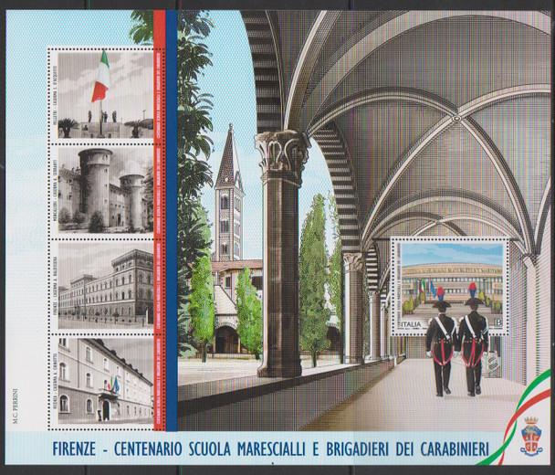 ITALY (2021)- Police School Jumbo Sheet