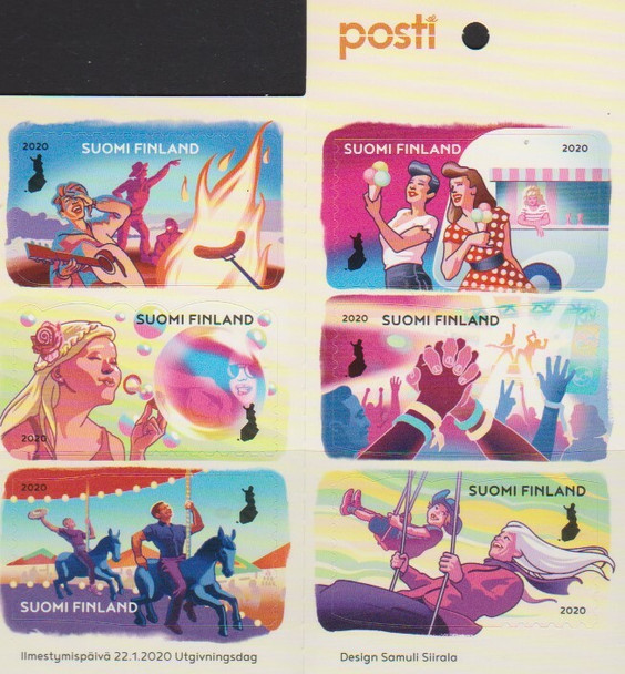 FINLAND (2020)-- FRIENDSHIP BOOKLET- Summer Fun, Concerts, etc.