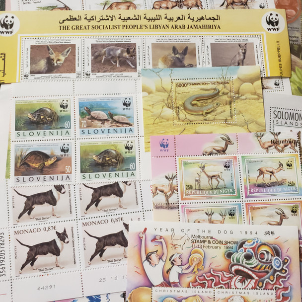 SUPER DEAL! WORLDWIDE Animal, Wild and Domestic ,Collection,42  Sets, SS Sheets Scv$250