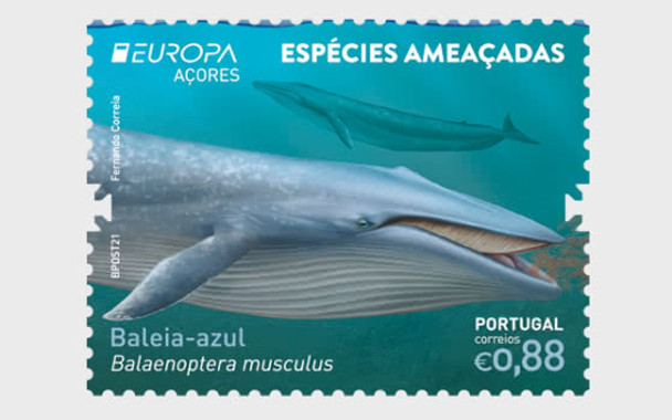 AZORES (2021)-Europa- Endanged National Species- Whale