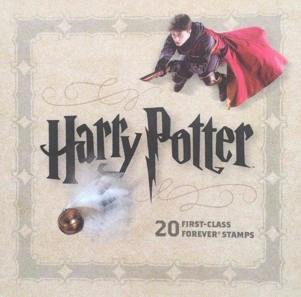 US (2003)- Harry Potter Complete US Booklet sold with 16 First Day Covers