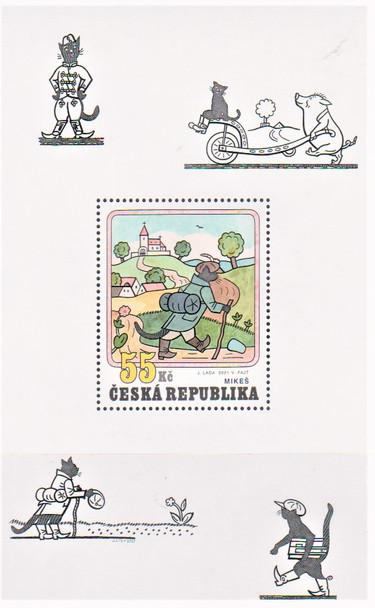 CZECH REPUBLIC  (2021)- Tomcat Cartoon Sheet