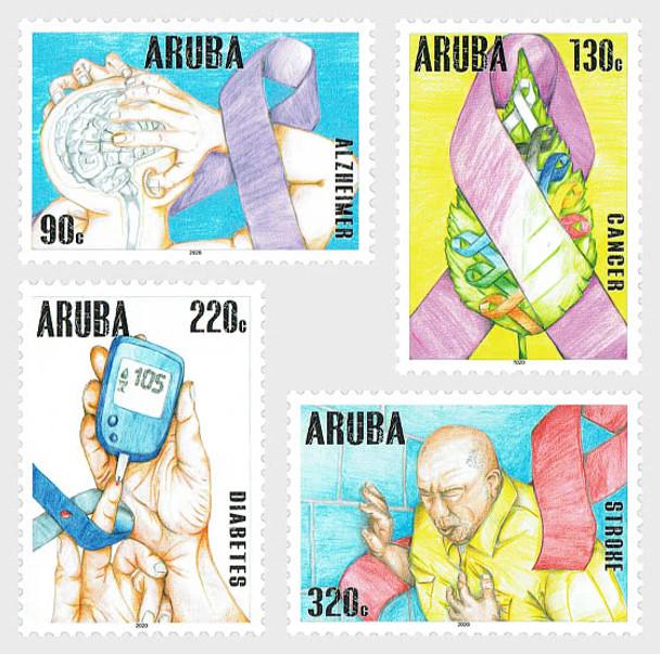 ARUBA  (2021)- Health Awareness (4v)