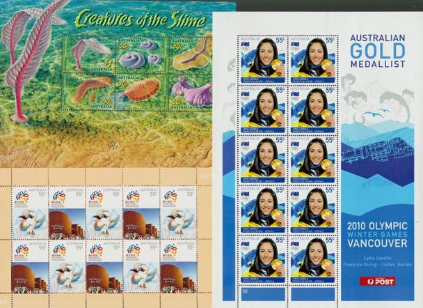 Australia: AUSTRALIA Sheet Collection 1999-2013 Range SCV Approx $225