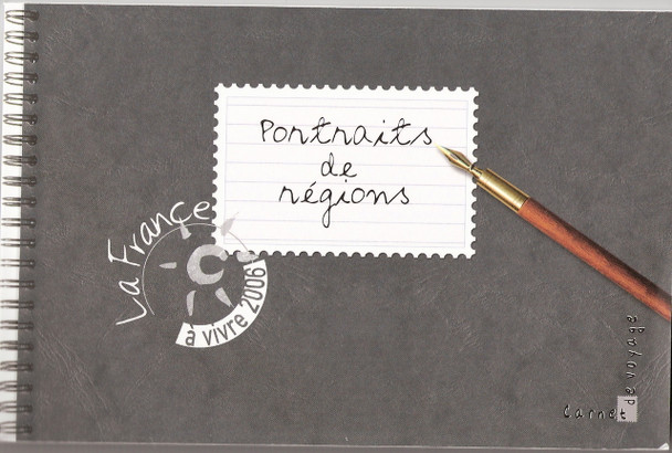 FRANCE: Regional Portraits Prestige booklet(2006)-Illustrated festivals and foods