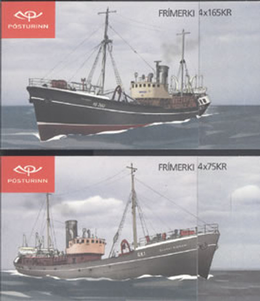 ICELAND (2014) - Trawlers Booklets (2)