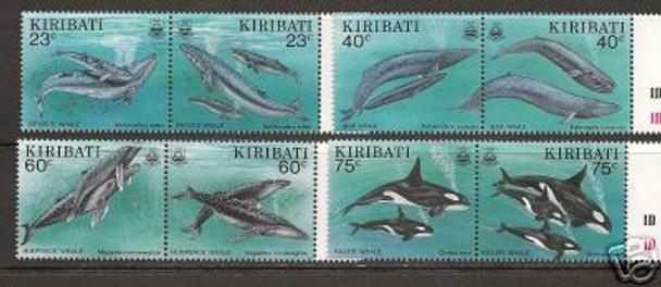 KIRIBATI (1994)- Whales (8 values)