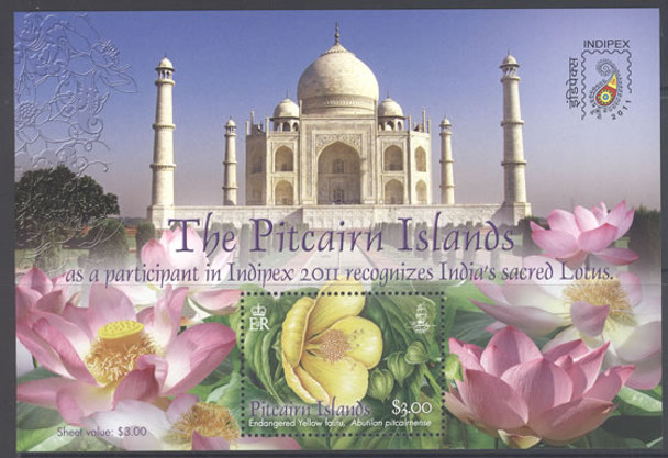 Lotus Flowers- souvenir sheet