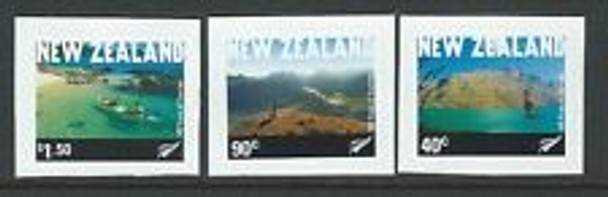 NEW ZEALAND (2001) Tourism Self Adhesive ((3v)