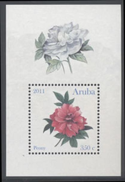 Peony Flower- souvenir sheet