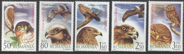 ROMANIA (2007) - Birds of Prey- owl (5)