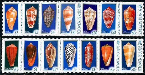 SOLOMON ISLANDS (2006)- SEA SHELLS (14v)