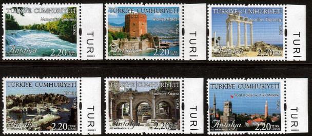 TURKEY (2013) : Antalya Tourism Definitives- 6 values