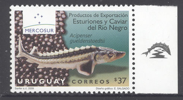 URUGUAY (2009)- Sturgeon and caviar