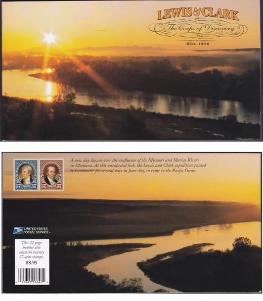 US (20004) Lewis & Clark Expedition, Prestige booklet