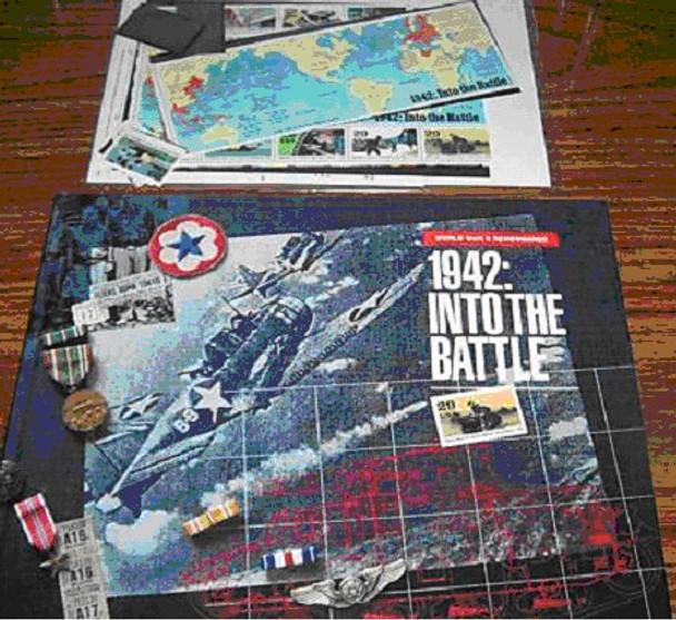 USPS- WORLD WAR II REMEMBERED- 1942