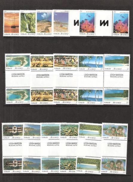 VANUATU (1993)- ISLAND SCENES- 16 VALUES