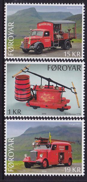 FAROE ISLAND- Old Fire Trucks (3)